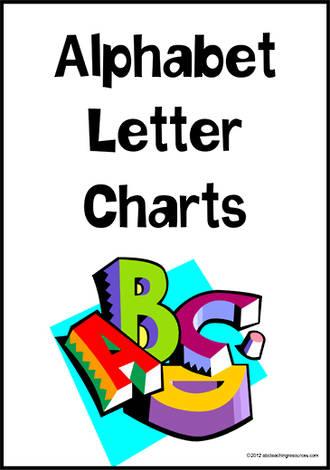 Alphabet Letter Charts | Sassoon Primary Style