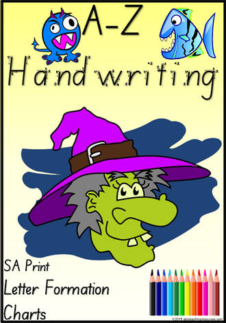 Foundation Handwriting | Letter Formation | Charts | SA Print