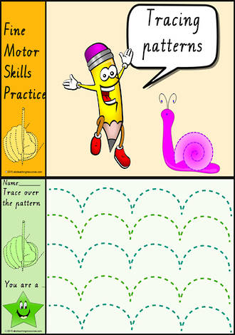Foundation Handwriting | Practice | Tracing Patterns  | Colour Charts | VIC Modern PreCursive