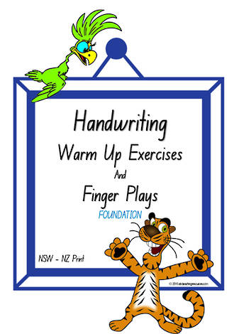 Foundation Handwriting | Management | Rhymes | Charts | NSW-NZ Print