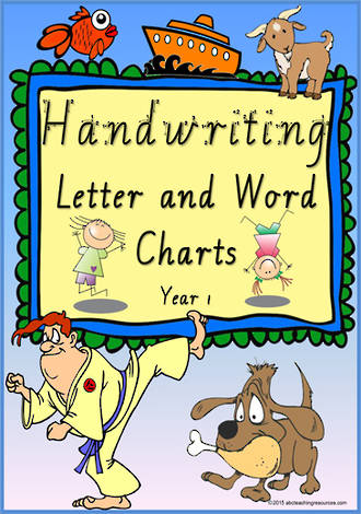 Year 1 Handwriting | Letter Formation | Letter - Word | VIC Modern PreCursive
