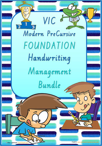 Foundation Handwriting | Management | BUNDLE | VIC Modern PreCursive