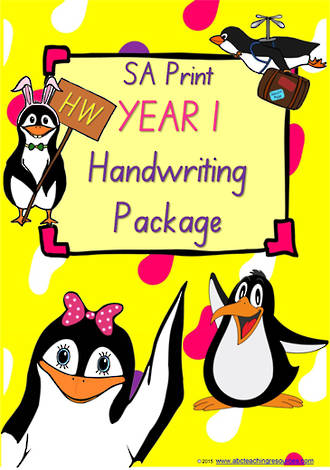 Year 1 | Handwriting Programme | PACKAGE | SA Print