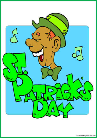 St. Patrick's Day | Word | Cards