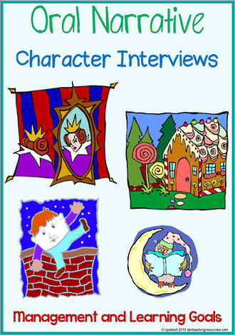 Oral Narrative - Character Interview | Charts