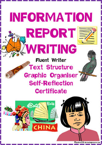 Information Report Writing | Text Structure | Self-Reflection | Fluent Writer
