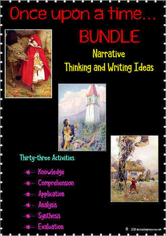Once Upon a time… | Creative Thinking - Writing Ideas | BUNDLE