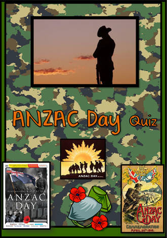 ANZAC Day  | Quiz | Cards