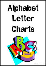 Alphabet Letter Charts | Zaner Bloser Style