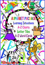 Learning the Alphabet | PACKAGE