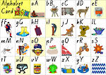 Aussie Alphabet Card | Lowercase & Uppercase Letters | VIC Print