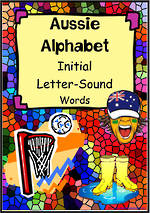 Aussie Alphabet | Word | Flashcards
