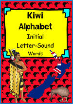 Kiwi Alphabet | Word | Flashcards