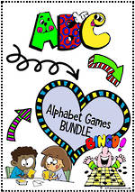 Alphabet Games | BUNDLE | KBbubblegum