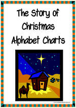 The Story of Christmas | Alphabet | Picture-Letter-Word | Charts