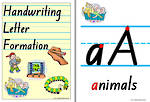 Handwriting | Letter Formation | Charts | NSW-NZ Print