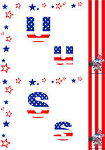 Let's Celebrate Independence Day | Stars and Stripes | Alphabet