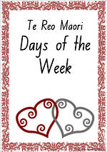 Maori | Days of the Week | Cards