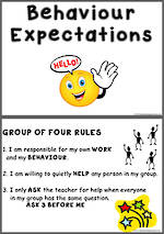 Group Behaviour | Expectations | Chart