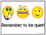 Remember To   Be Quiet Chart