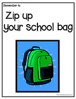 Remember To | Zip Up Your Bag | Chart