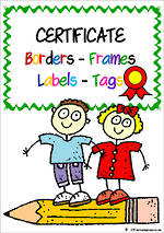 Certificate | Border - Frames- Labels -Tags