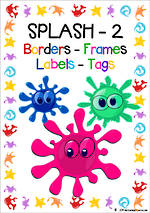 Splash  Theme | Border - Frames- Labels -Tags