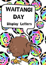 Waitangi Day | Instant Display Letters