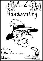 Foundation Handwriting | Letter Formation| Charts | VIC Print