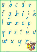 Foundation Handwriting |Letter Formation | Letter – Number | QLD Print