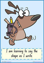 Foundation Handwriting   Terminology   Letter Element   Charts   NSW-NZ Print