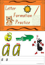Foundation Handwriting | Practice | Letter Formation | Colour Charts | VIC Print