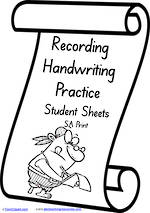 Foundation Handwriting | Visible Learning | Recording Practice  | SA Print