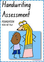 Foundation Handwriting | Visible Learning | Assessment | NSW-NZ Print