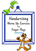 Foundation Handwriting | Management | Rhymes | Charts | VIC Modern PreCursive
