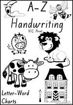 Foundation Handwriting | Management | Letter – Word | Black and White | Display | VIC Print