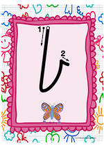 Year 1 Handwriting | Letter Formation | Lowercase | Colour Charts | NSW-NZ Print