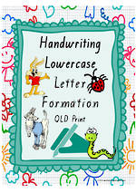 Year 1 Handwriting | Letter Formation | Lowercase | Colour Charts | QLD Print