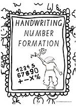 Year 1 Handwriting | Letter Formation | Number | Charts | VIC Modern PreCursive