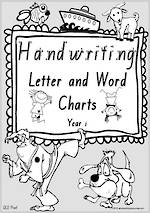 Year 1 Handwriting | Letter Formation | Letter - Word | Colouring Pages | QLD Print