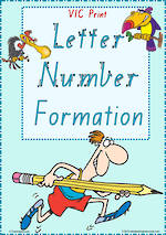 Year 1 Handwriting | Formation | Letter – Number | Charts | VIC Print