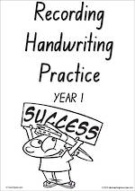 Year 1 Handwriting | Visible Learning | Recording | Black and White | NSW-NZ Print