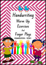 Year 1 Handwriting | Management | Rhymes | Charts | VIC Print
