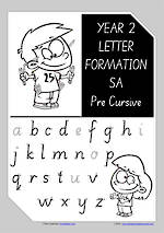 Year 2 Handwriting | Letter Formation | Uppercase | Lowercase | SA PreCursive