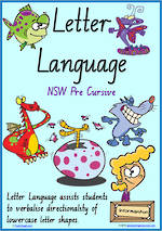 Year 2 Handwriting | Terminology | Lowercase Letter Language | Charts | NSW-NZ PreCursive