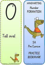 Year 2  Handwriting | Terminology | Bookmark | Number | Cards | SA Pre Cursive