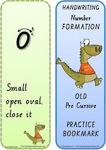 Year 2  Handwriting | Terminology | Bookmark | Number | Cards | QLD Pre Cursive