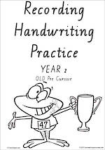 Year 2  Handwriting | Visible Learning | Student Recording | Sheets | QLD PreCursive