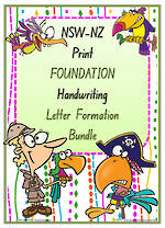 Foundation Handwriting | Letter Formation | BUNDLE | NSW-NZ Print