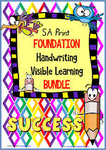 Foundation Handwriting | Visual Learning | BUNDLE | SA Print